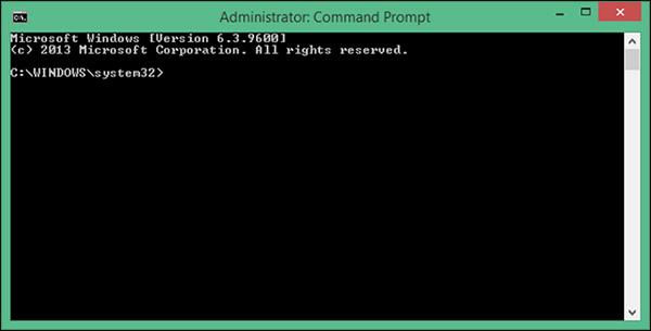 Kiểm tra bằng câu lệnh trong Command Prompt