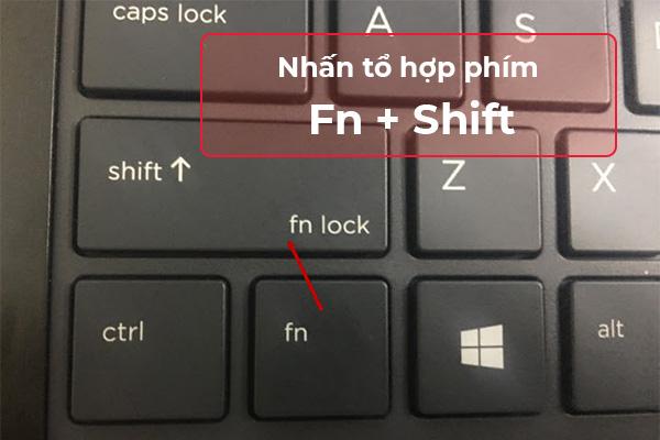 Cách tắt phím Fn trên laptop HP