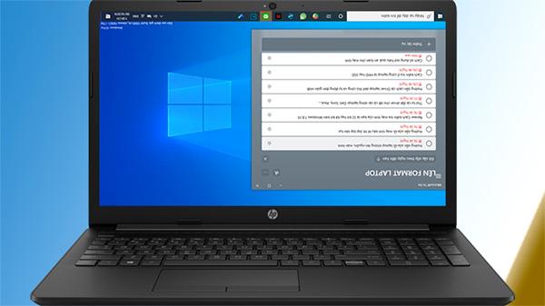 Lỗi màn hình laptop bị xoay ngược