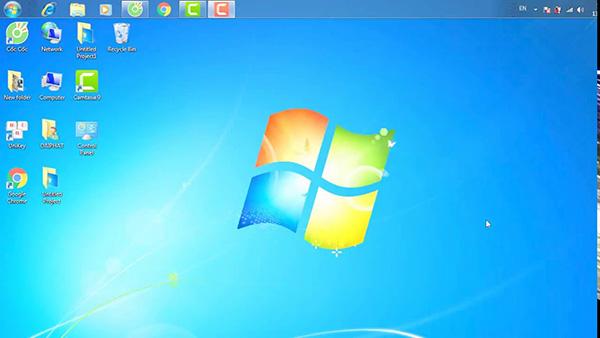 Cách đưa icon phần mềm ra Desktop trên Win 7